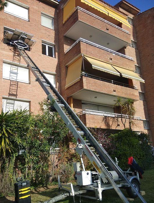 elevación en Mataró