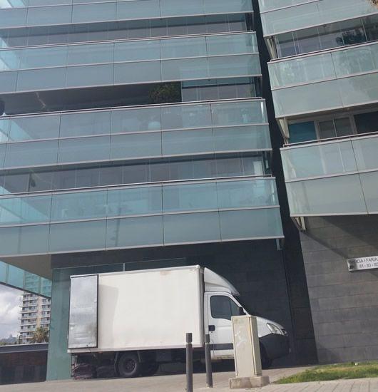 traslado de oficinas en Mataró