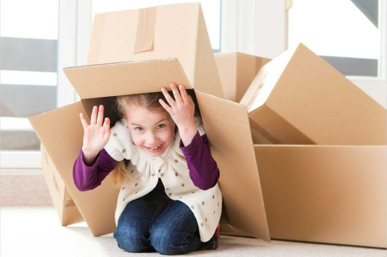 Cómo hacer mudanzas con niños