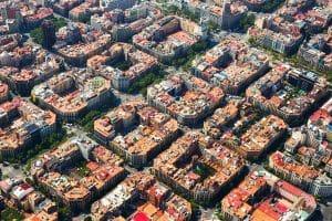 eixample zonas barcelona